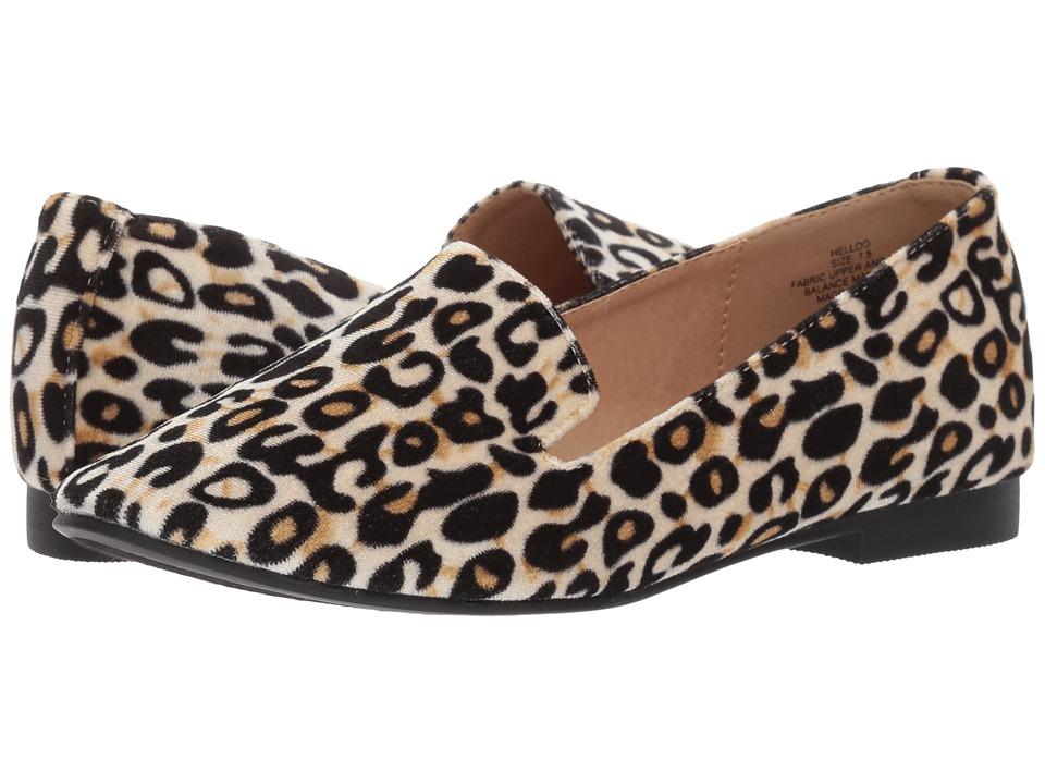 Madden Girl Helloo (Leopard) Women