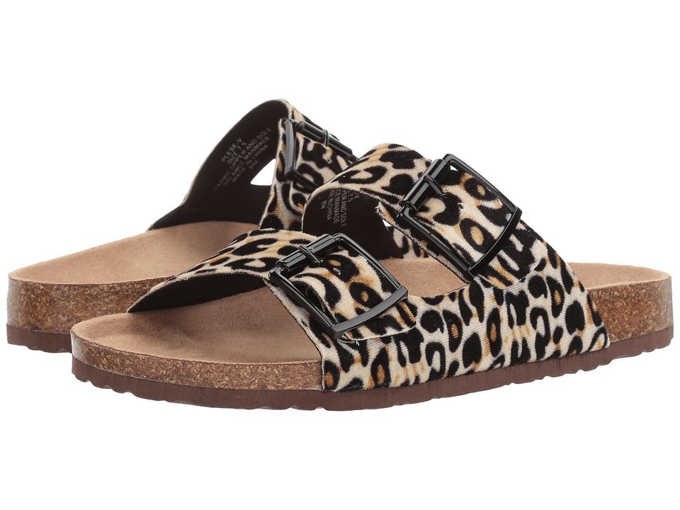 Madden Girl Plese-V (Leopard) Women