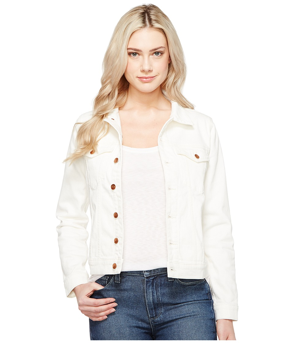DL1961 - Maddox Boyfriend Jacket (Eggshell) Women's Coat