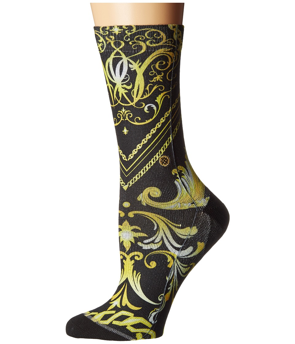 Stance - Handsome Beast (Black) Women's Crew Cut Socks Shoes