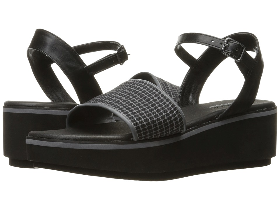 SKECHERS - Hush Hush (Black/Grey) Women's Sandals