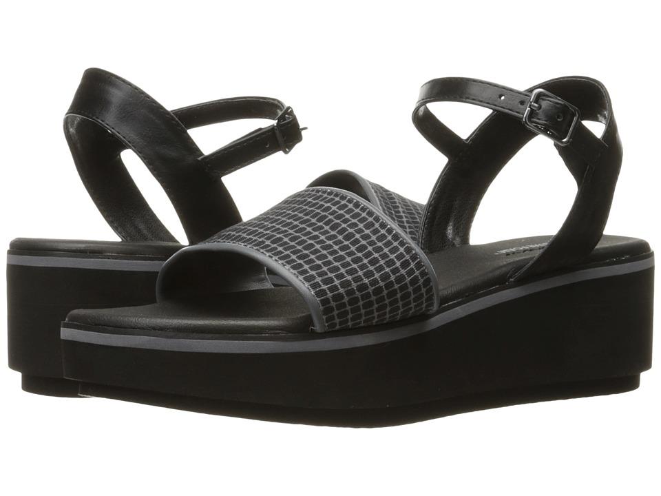 SKECHERS - Hush Hush (Black/Grey) Women's Sandals