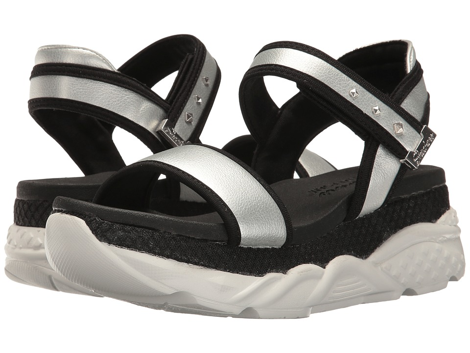 SKECHERS - Cloud 9 - Lil Angel (Silver) Women's Sandals