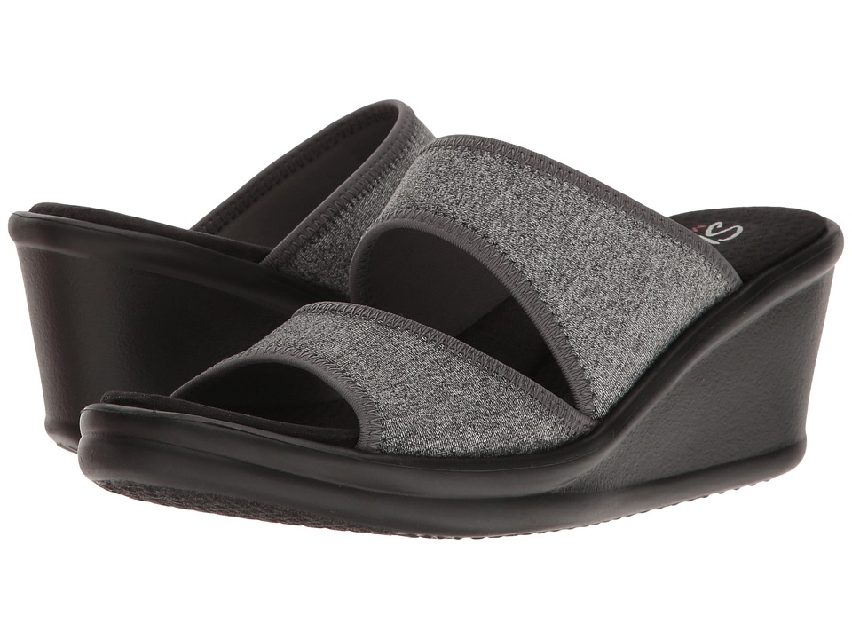 SKECHERS - Rumblers - Heathering Heights (Grey) Women's Sandals