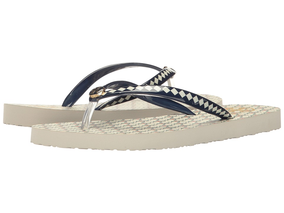 Tory Burch Printed Thin Flip-Flop (Piazza) Women