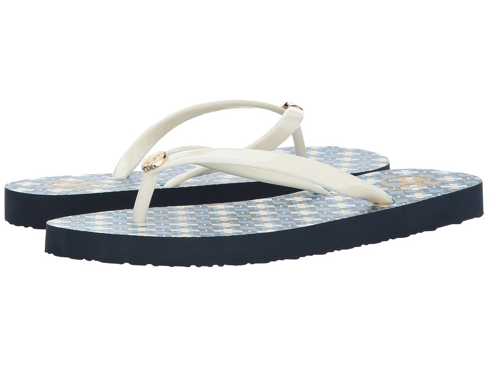 Tory Burch - Thin Flip Flop (Wave Print Wave) Women's Sandals