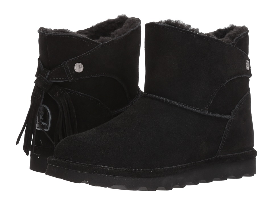 Bearpaw Natalia (Black Suede) Women