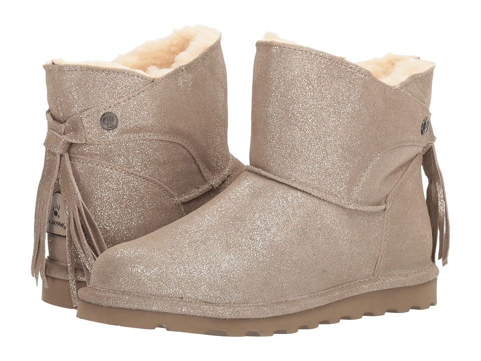 Bearpaw - Natalia (Pewter Distressed) Women's Shoes