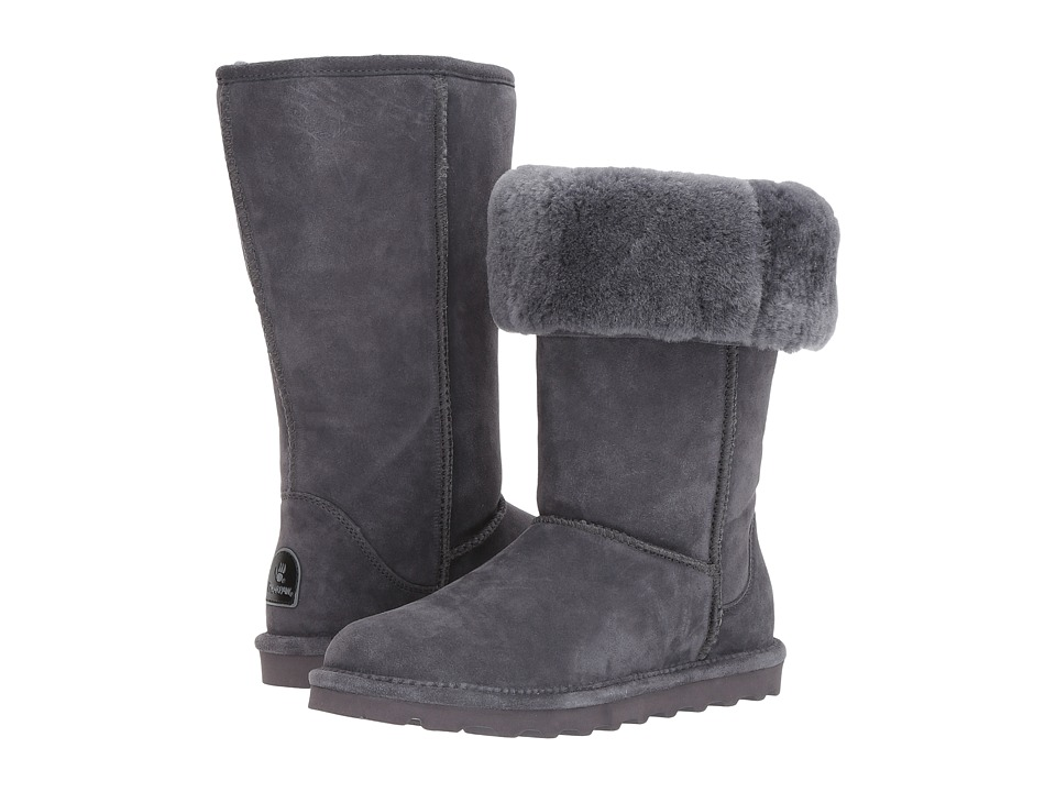 Bearpaw - Elle Tall (Charcoal) Women's Shoes