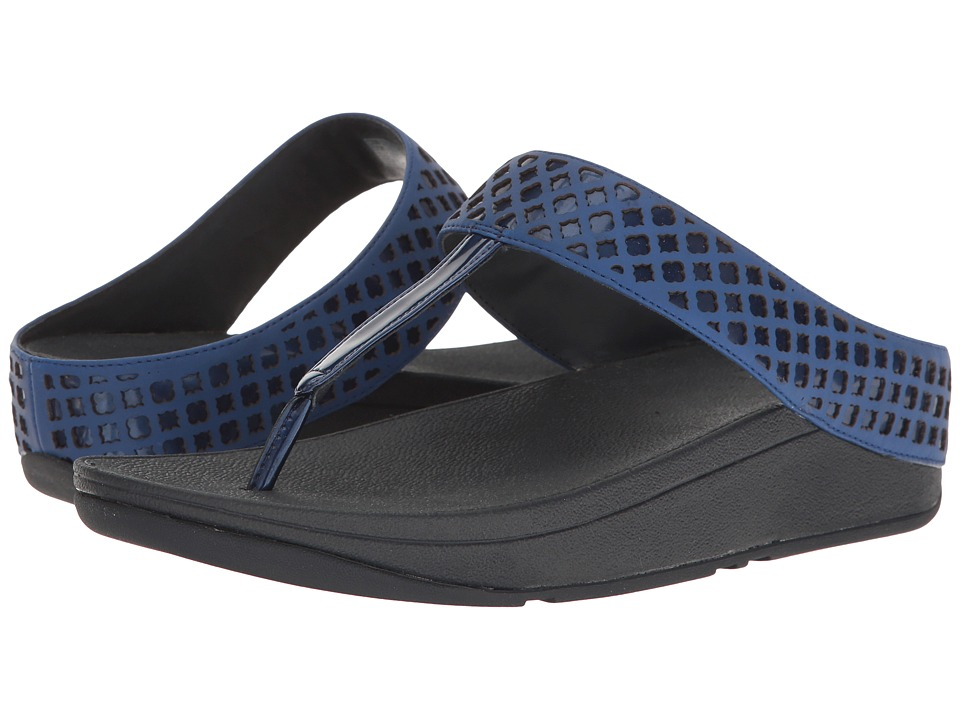 FitFlop - Safi Toe-Post (Royal Blue) Women's Shoes