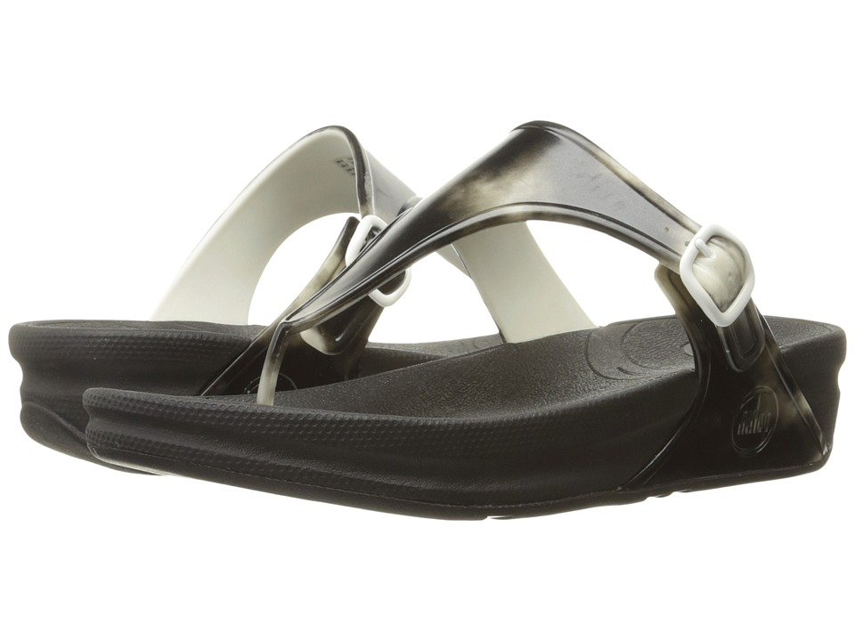 FitFlop - Superjelly (Black) Women's Shoes