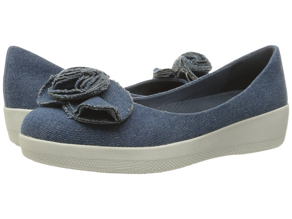 FitFlop Florrie Superballerina (Denim) Women