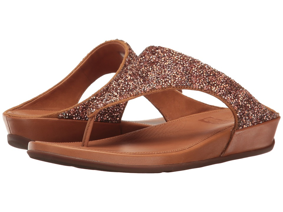 FitFlop - Banda Roxy (Rose Gold) Women's Shoes