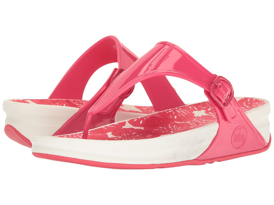FitFlop - Superjelly (Raspberry) Women's Shoes