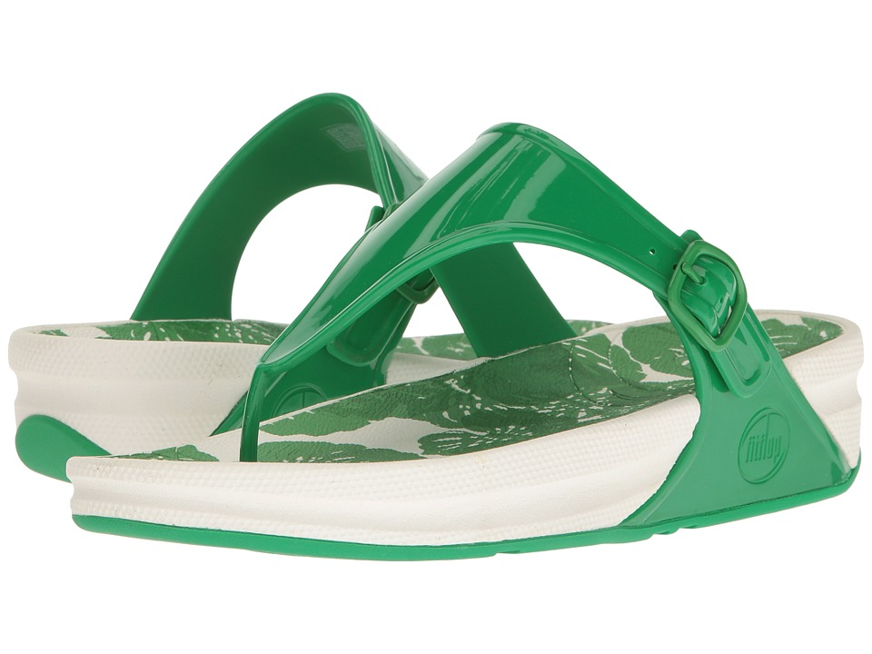 FitFlop - Superjelly (Leaf Green) Women's Shoes