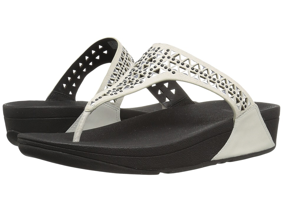 FitFlop Carmel Toe Posttm (Urban White) Women