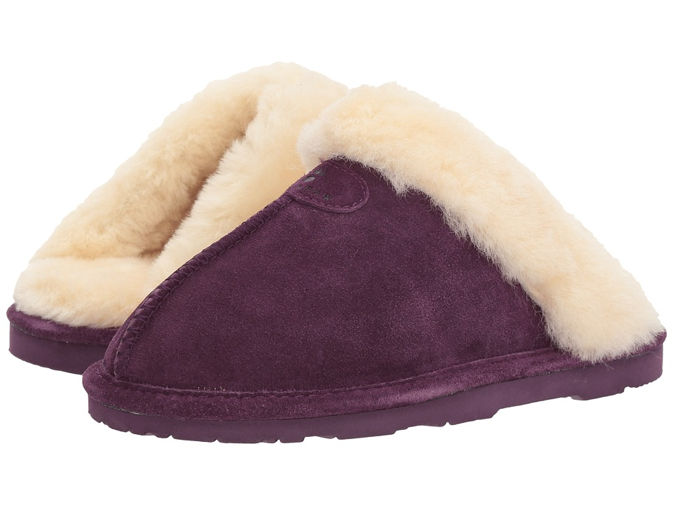 Bearpaw - Loki II (Plum Suede) Women's Slippers