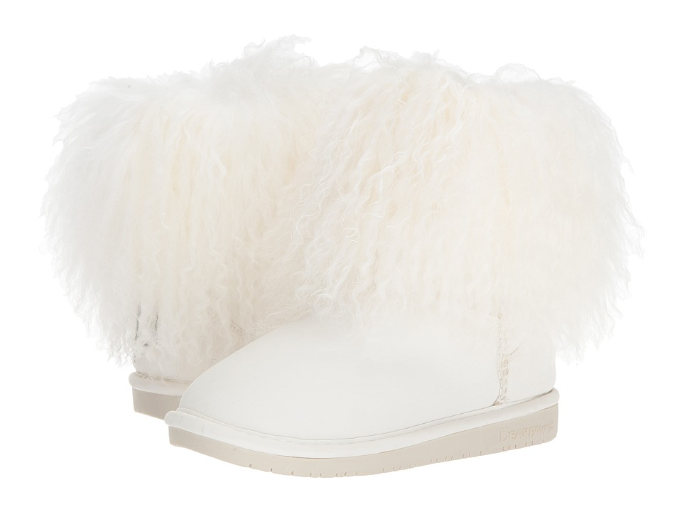 Image of Bearpaw - Boo (White Faux Leather) Women's Shoes