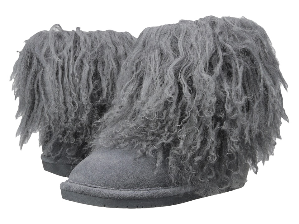 Bearpaw - Boo (Charcoal Suede) Women's Shoes