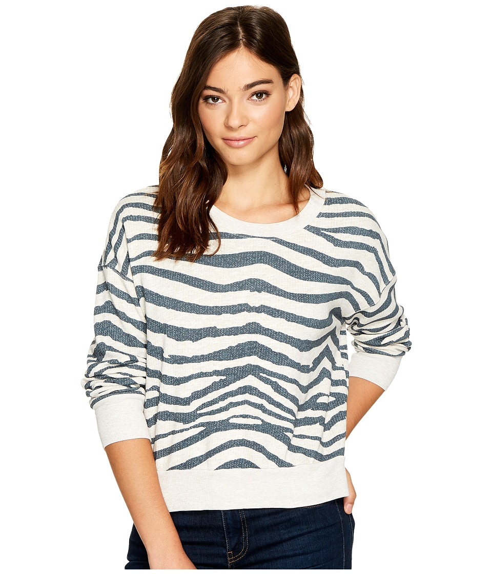 Splendid - Cropped Sweatshirt (Paper) Women's Sweatshirt