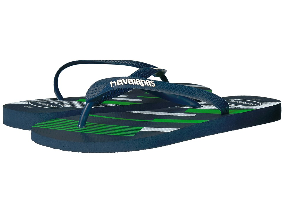 Havaianas - Trend Geo Sandal (Navy Blue/White 1) Men's Sandals