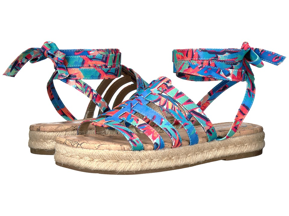 Circus by Sam Edelman Ariel (Blue Multi Palm Party Print) Women