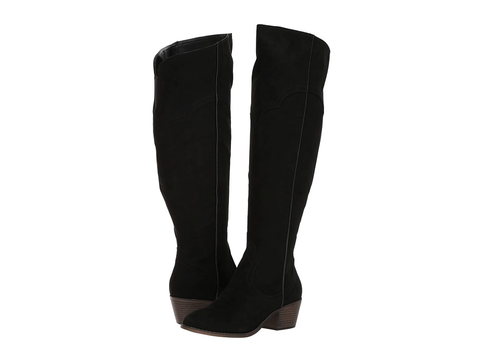 Fergalicious - Bata Wide Calf (Black) Women's Wide Shaft Boots