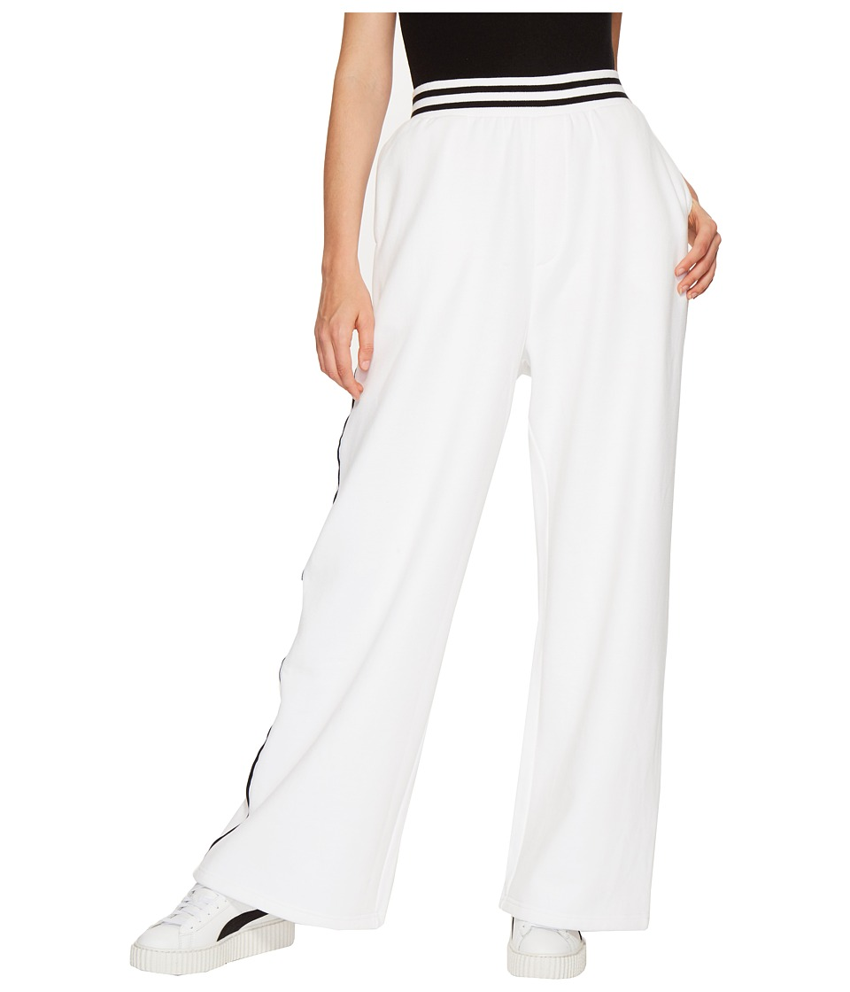 PUMA - Fenty Rising Sun Track Pants (White) Women's Casual Pants