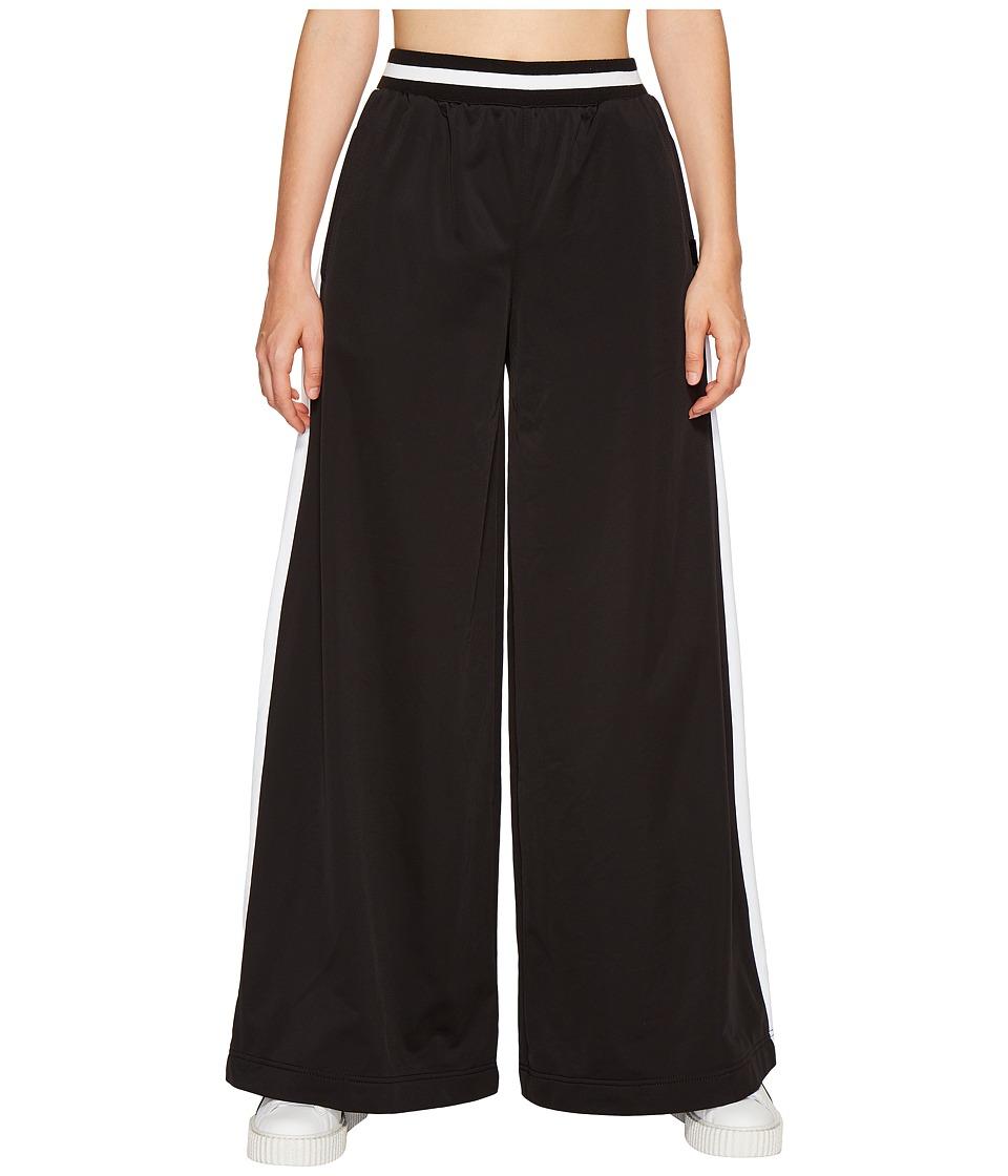 PUMA - Fenty Kimono Tricot Track Pants (Black/White) Women's Casual Pants