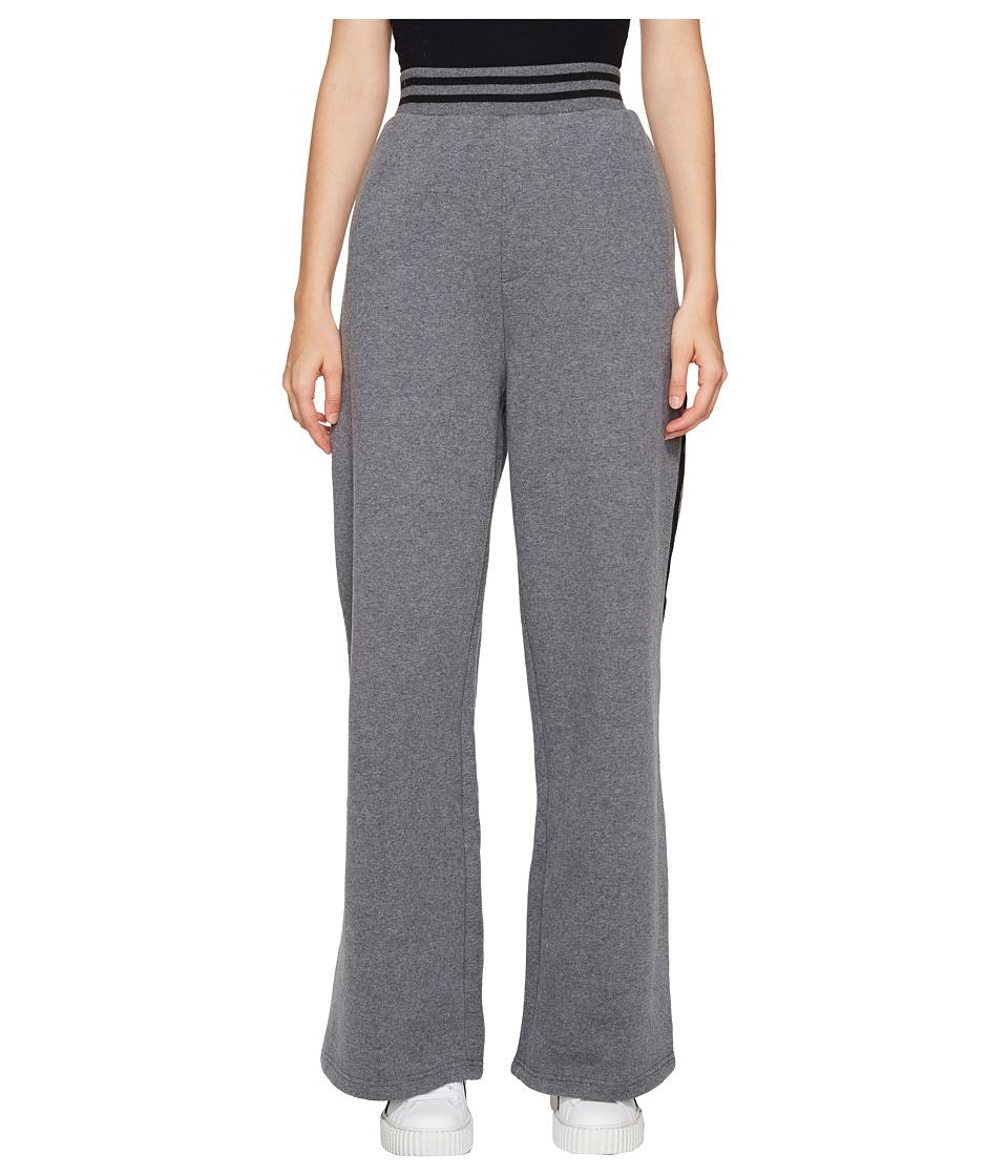 PUMA - Fenty Rising Sun Track Pants (Dark Gray Heather) Women's Casual Pants