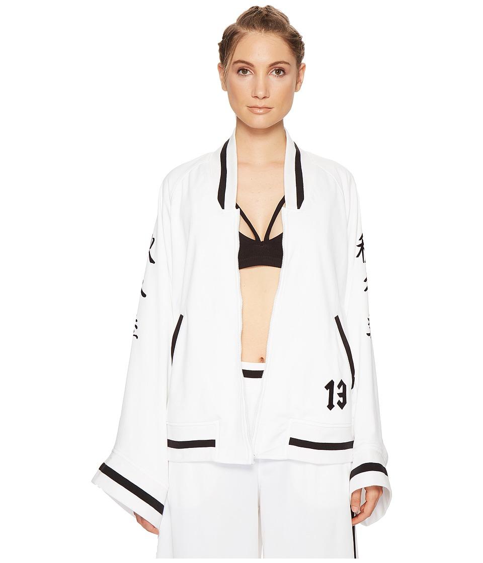 PUMA - Fenty Kimono Tricot Track Jacket (White/Black) Women's Coat