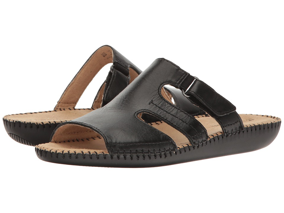 Naturalizer - Serene (Black Leather) Women's Shoes
