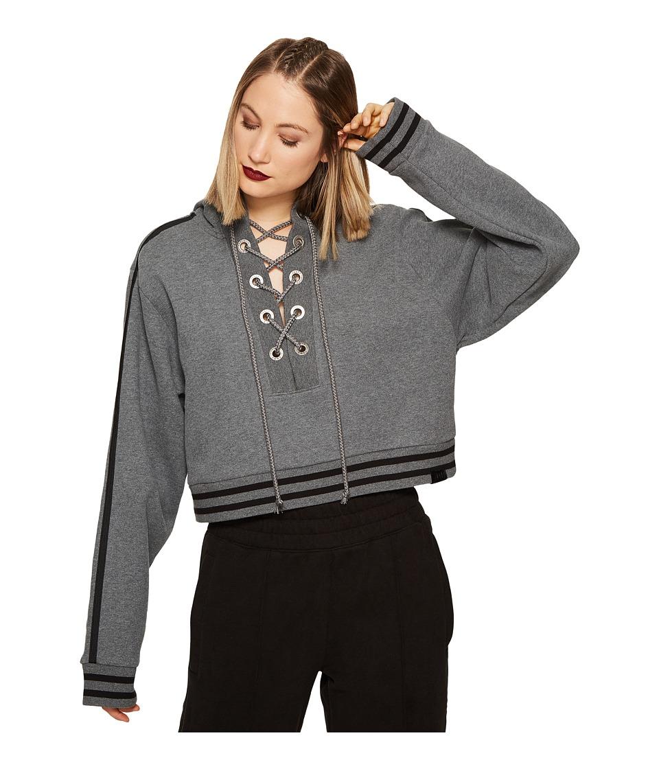 PUMA - Fenty Rising Sun Track Jacket (Dark Gray Heather) Women's Coat
