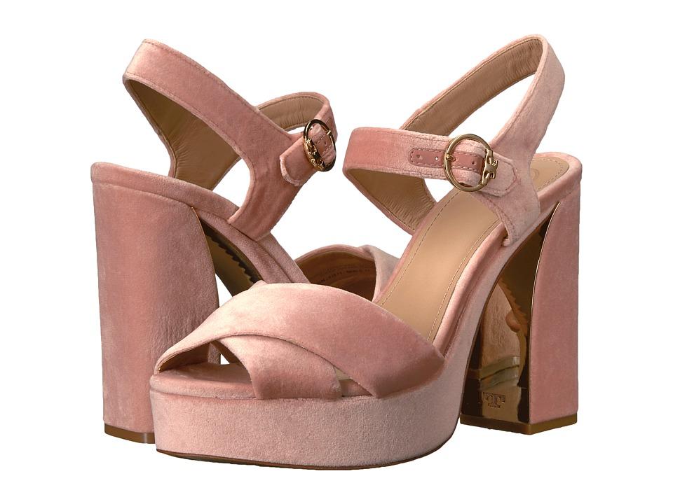 Tory Burch Loretta 115mm Platform (Ballet Pink) Women