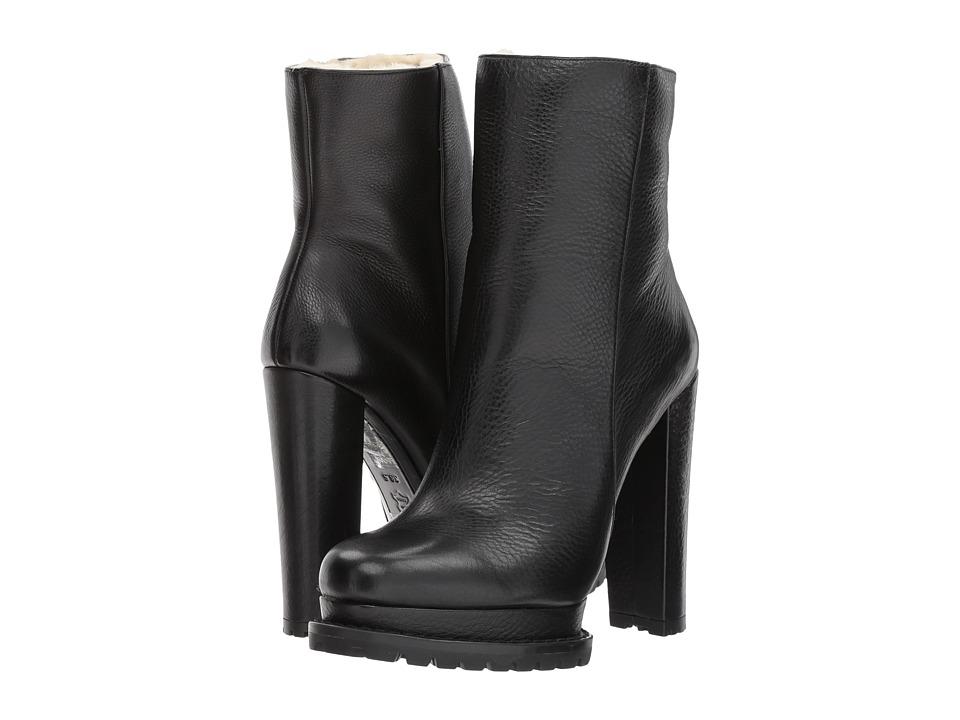 Alice + Olivia Holden (Black Tumbled Leather) Women