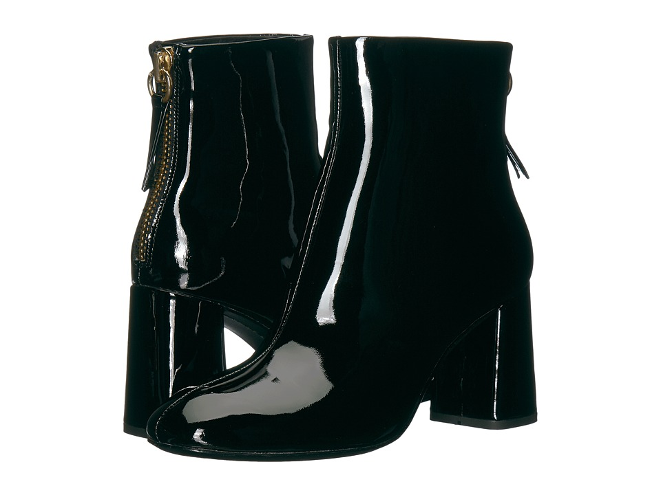 Alice + Olivia Mulberry (Black Smooth Patent) Women