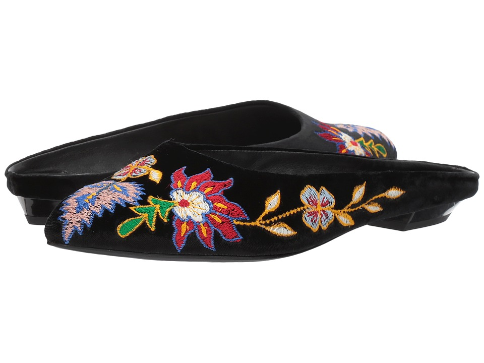 Image of Alice + Olivia - Abbey (Multi/Black Gloria Tapestry Embroidery) Women's Shoes