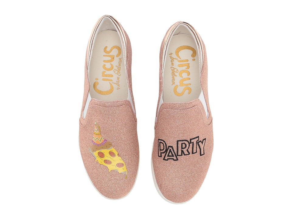 Circus by Sam Edelman Charlie-27 (Rose Gold (Pizza Party) Multicolor Fine Glitter) Women