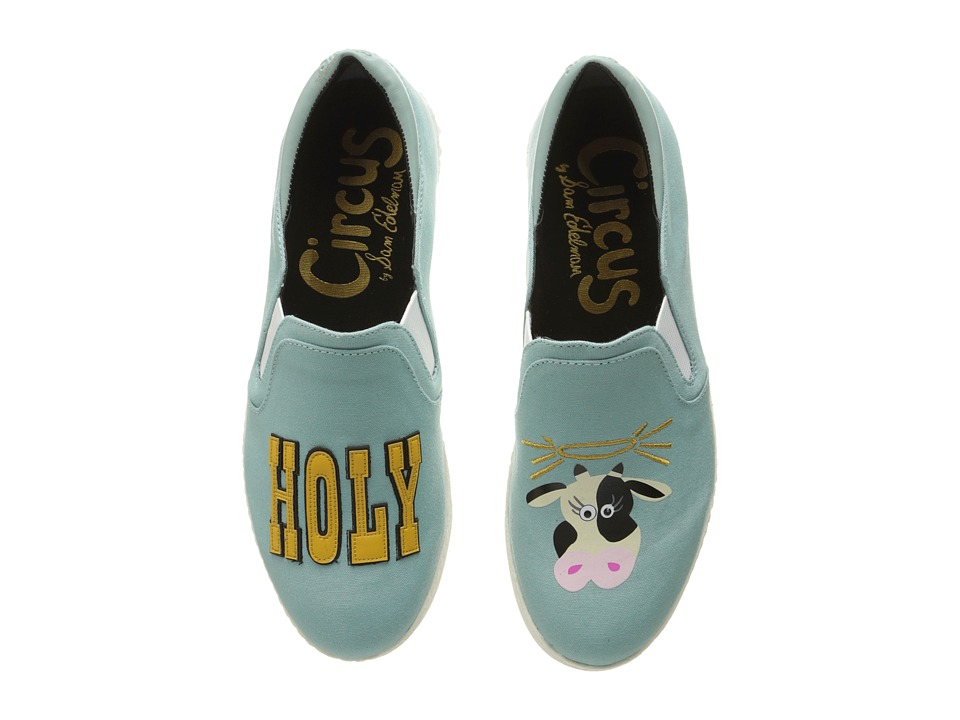 Circus by Sam Edelman - Charlie-24 (Blue Porcelain (Holy Cow) Canvas) Women's Shoes