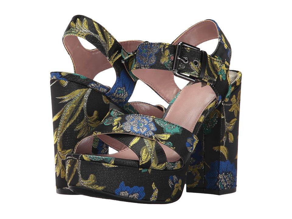 Circus by Sam Edelman - Maria (Black Multi Metallic Floral Brocade) Women's Shoes