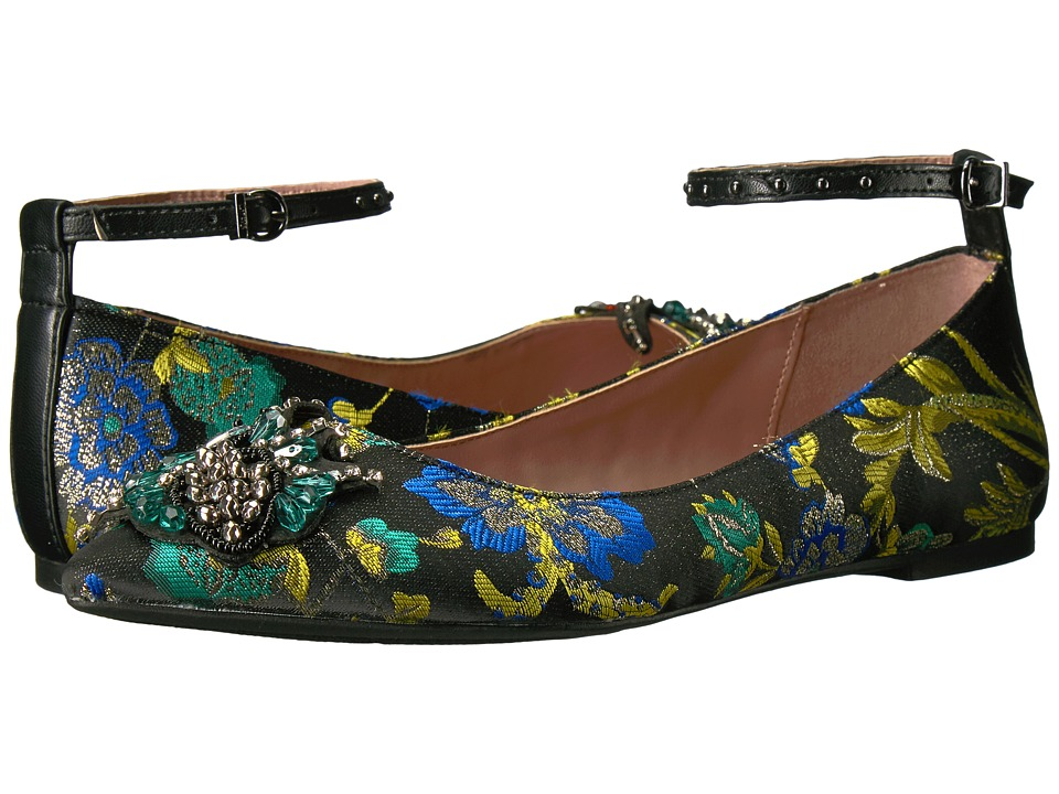 Circus by Sam Edelman Rocco (Black Multi Metallic Floral Brocade/Soft Nappa) Women