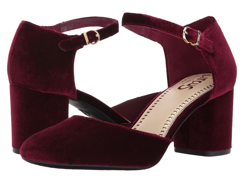 Circus by Sam Edelman Joelle (Cranberry Silk Velvet) Women