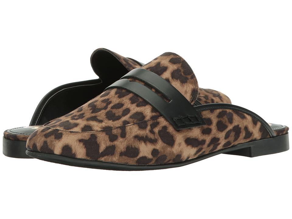 Circus by Sam Edelman - Paulie (Black/Brown Cheetah Print Fabric) Women's Shoes