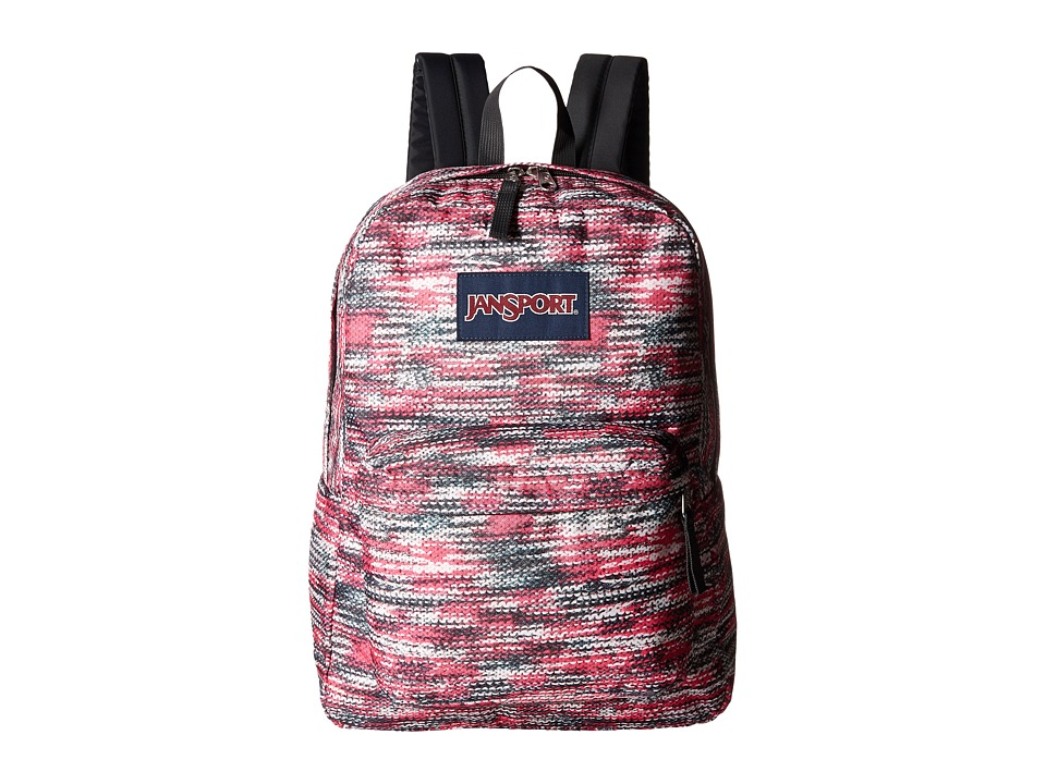 JanSport - SuperBreak (Multi Sweater Knit) Backpack Bags