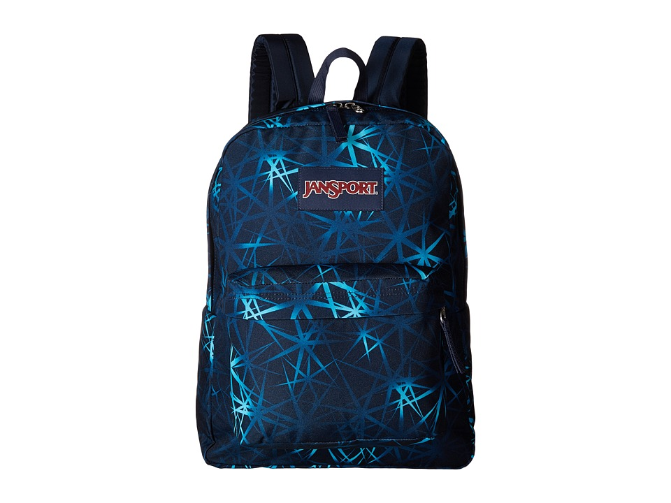 JanSport - SuperBreak (Janpsort Navy Night Sky) Backpack Bags