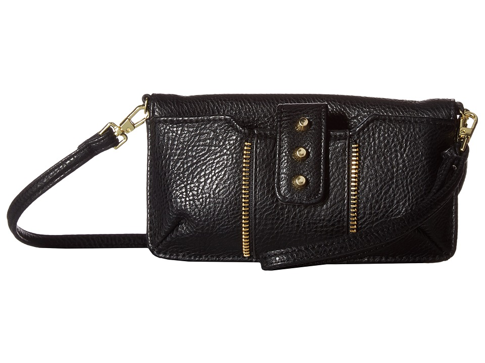 Jessica Simpson - Lexa Cell Crossbody (Black) Cross Body Handbags