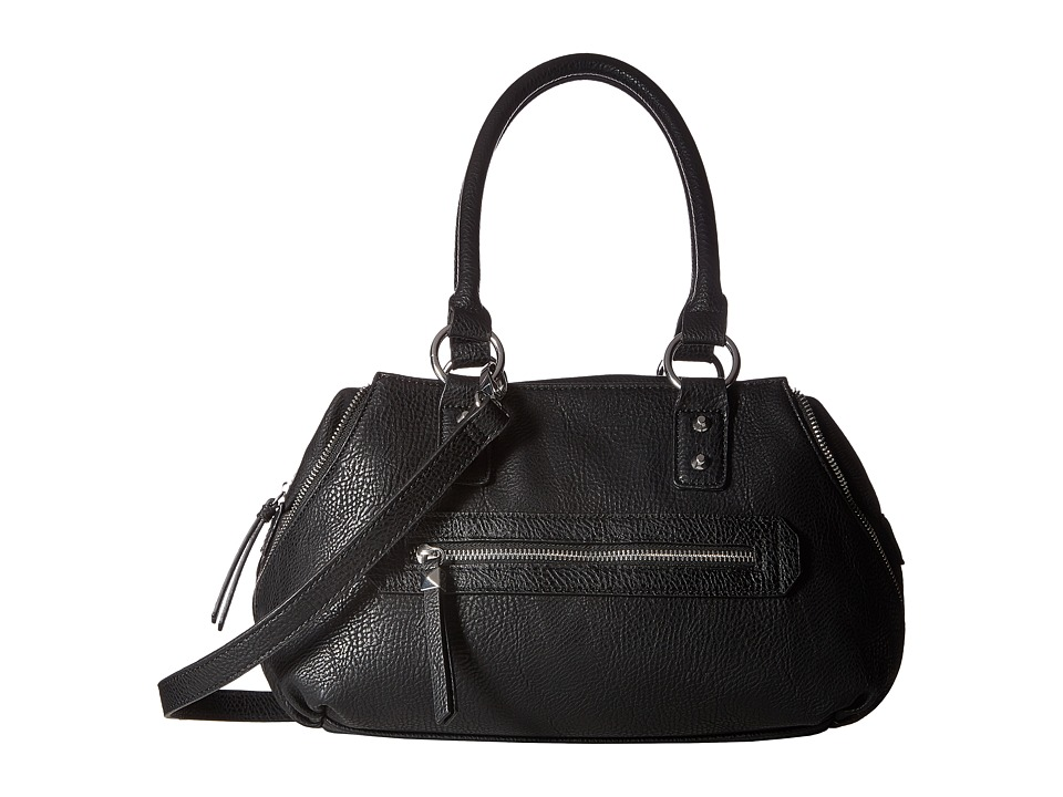 Jessica Simpson - Marley Crossbody Satchel (Black) Satchel Handbags