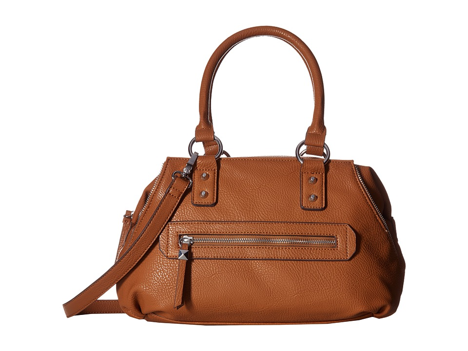 Jessica Simpson - Marley Crossbody Satchel (Cognac) Satchel Handbags