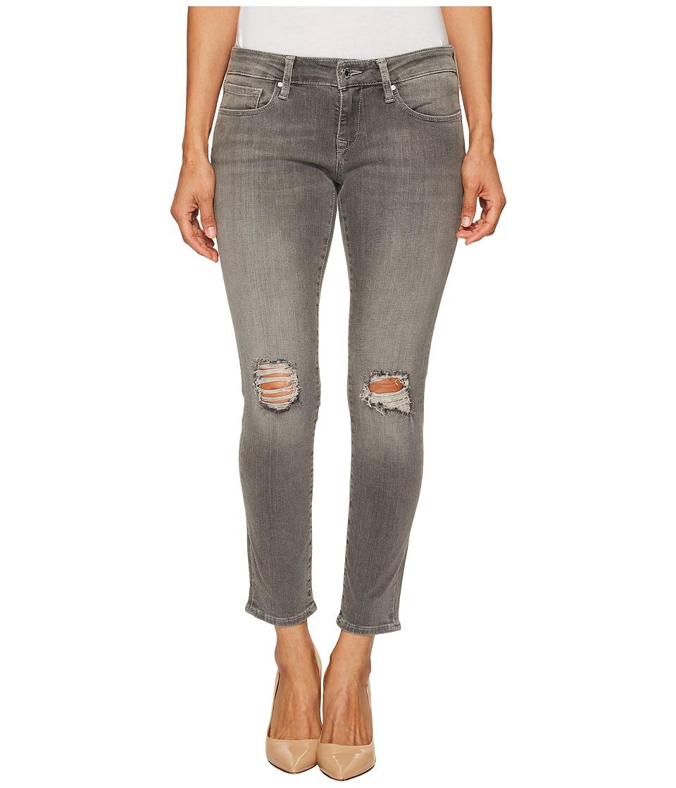 Mavi Jeans Petite Serena in Grey Ripped (Grey Ripped) Women