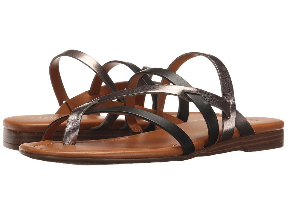 Franco Sarto - Gennifer (Black/Steel) Women's Shoes